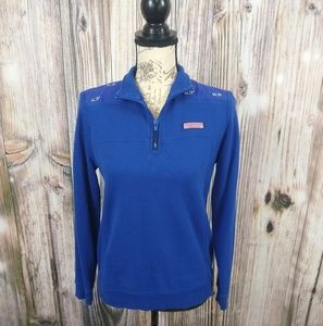 Vineyard Vines Whale Embroidered Shep Pullover